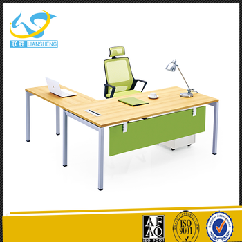 Low Price High Tech Long Office Table With Drawers President
