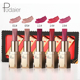 Pudaier Moisture Matte Lipstick Women Beauty Sexy Red Lipstick Pigmenting Waterproof Long Lasting Velvet Lip Stick 5pcs/kit