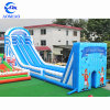 High quality PVC inflatable zip line slide giant inflatable water slide for adult