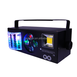 New coming Ktv 4in1 strobe spot laser butterfly led effect light