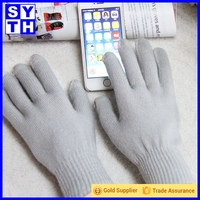 Free walk smart capacitive touch screen cold weather Texting stripe gloves