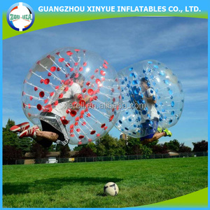 Good quality inflatable soccer bubble ball summer toys for kids