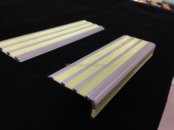Glow In The Dark Stair Nosing Strips For Stairs