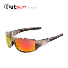 OUTSUN 2016 New Top Sport Driving Fishing Sun Glasses Camouflage Frame Polarized Sunglasses Men/Women Brand Designer De Sol