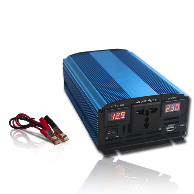 Auto Interruttore display A LED 300 w 500 w sinusoidale pura inverter 12 v