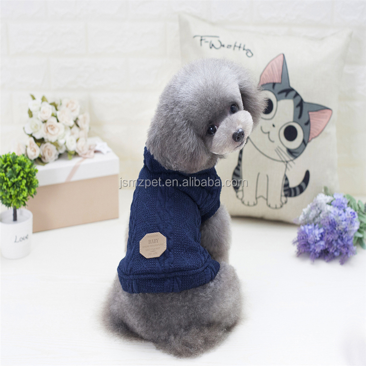 Wholesale matching <strong>dog</strong> and owner clothes plain pattern <strong>dog</strong> sweater 3 colors