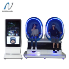 New business idea 9d virtual reality vr simulator virtual reality robot/egg cabin 2 seats Small Movie Theaters for sale