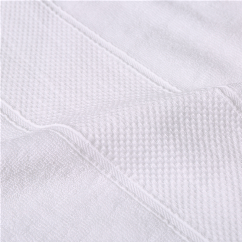 Luxury hotel embroidered bath towel 100% cotton hotel collection hand towels 100% cotton white hotel supplies