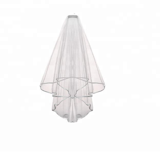 b258f028b1 Blanco velo de boda con letras ducha nupcial perfecto suministros fiesta  para la suerte de la