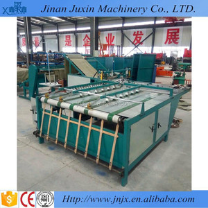 Automatic rice flour feed woven sack cutting sealing machine