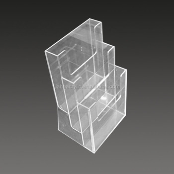 Plexiglass Acrylic Flyer Display Stand,A5 Brochure Display Holder ...