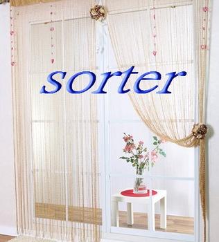 modern decorative string door/window/wall curtain/line screen with beads & Modern Decorative String Door/window/wall Curtain/line Screen With ...