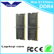Computer parts bulk ram DDR4 8gb 2400mhz memory module for laptop