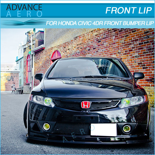 FOR HONDA CIVIC SEDAN 2006 2007 2008 2009 2010 2011 BODYKIT MUGEN RR STYLE BODY KIT PP BODYKITS