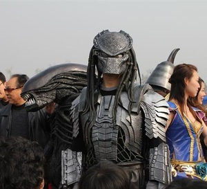Windranger - Realistic costumes helmet predator predator full face predator mask mascot costume for sale