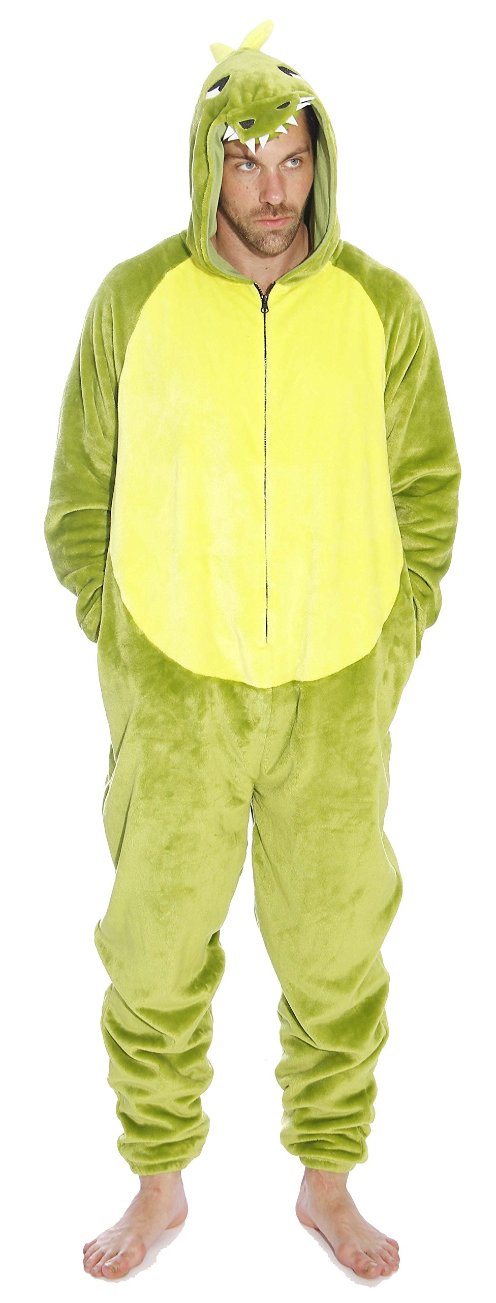 d6289e12a1db Get Quotations ·  followme M6405-XXL-Dragon Men s Adult Onesie Men s Adult  Pajamas