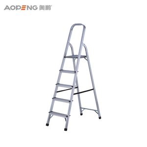 Professional multipurpose aluminum purpose folding step ladder
