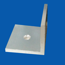 Structural L shape perforated aluminum extrusion angle bar
