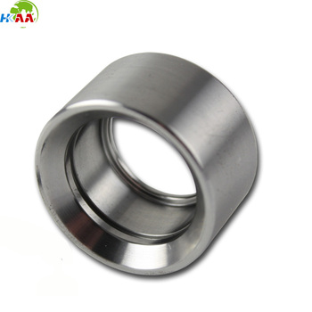 Precision CNC machined stainless steel camshaft roller bearing end cup, steel bearing cap