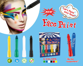Dress Up America 12 Color Face Paint Safe