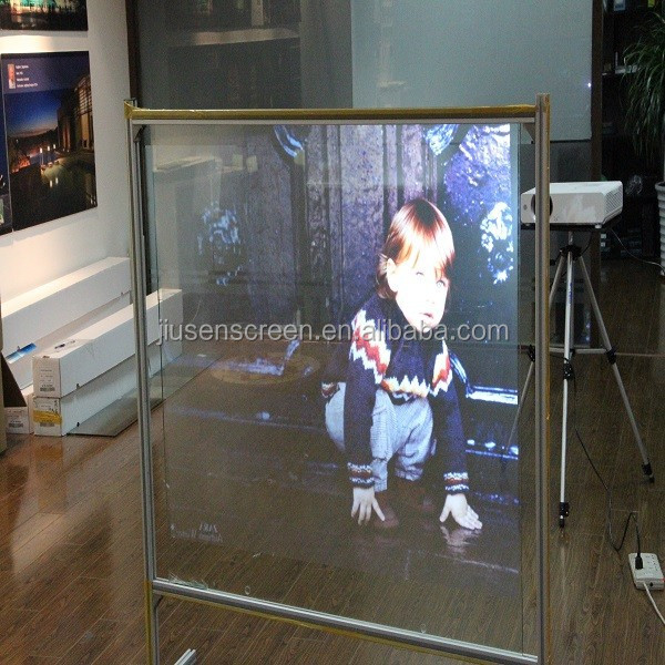 Window Films and Screens for high-impact rear projection