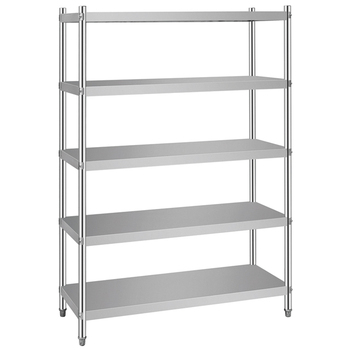Metal Storage Rack Stainless Steel Shelf