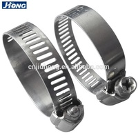 Hot Sales American Type 304 Stainless Steel Hose Clamp