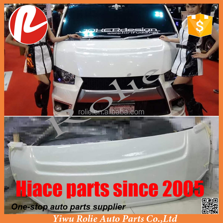 Joker design engine hood bonnet for 1Toyota hiace quantum 2014-2016 1695