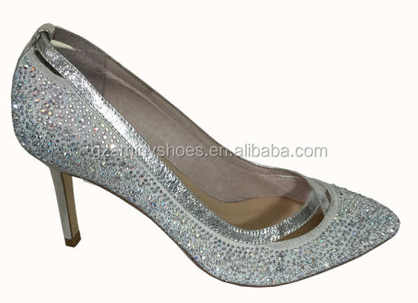 Ladies Ladies crystals pump crystals shoes Ladies shoes pump OpOf1qz