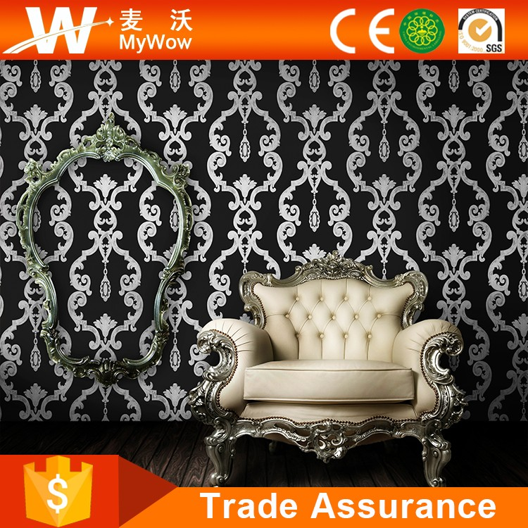 a28-1af--190506] New Design Pvc Embossed Small Pattern Wallpaper ...