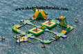 hot selling water game giant inflatable floating water park water splash park for sale
