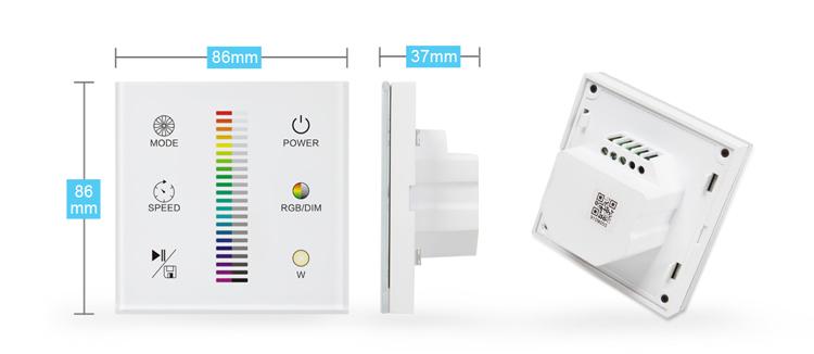 Zigbee Smart Home Led Lighting Wireless Remote Control
