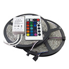China Supplier High Lumen 12V 300LEDs RGB Lights SMD 5050 Flexible RGB LED Strip Light