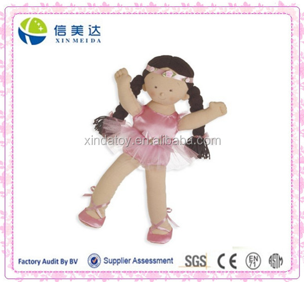 Plush Rosy Ballet Dancer Girl Doll
