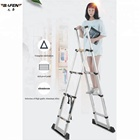 12.5ft Multi-purpose multiple aluminum folding step ladder