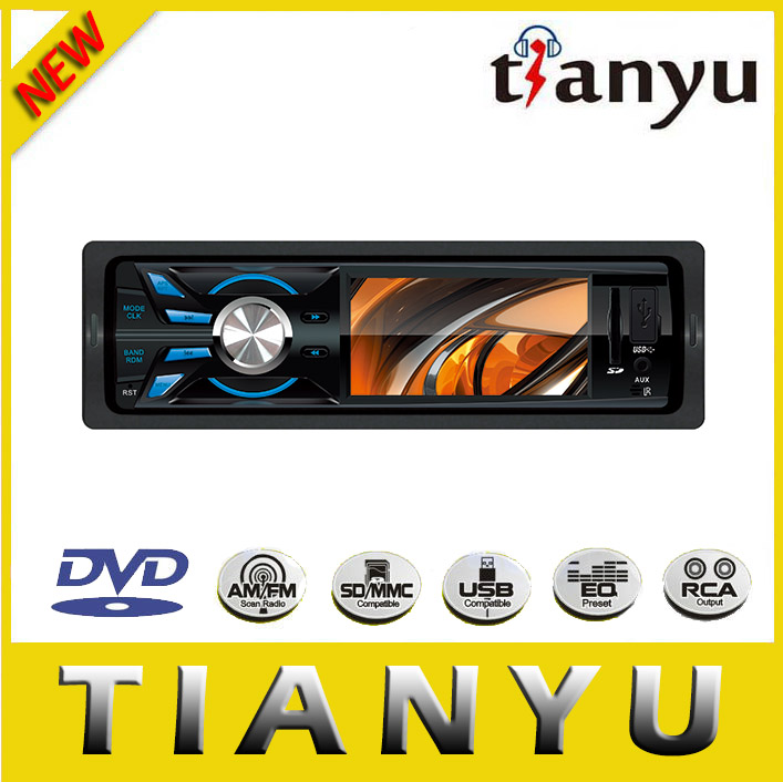 6.2 inch universal 1 din car dvd with 800 * 480 high-definition digital screen