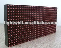 P10 Outdoor WaterProof Single Red Color LED Sign Module