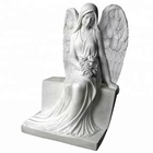 Graves Memorial Stone Of White Marble angel Monuments angel Tombstone