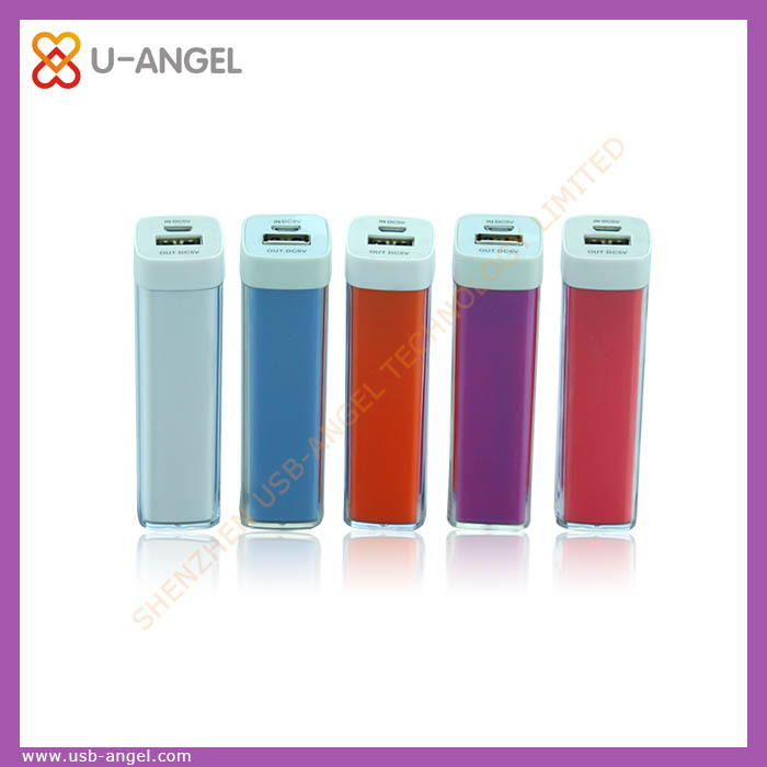 2A portable wireless rechargeable mobile phone battery charger