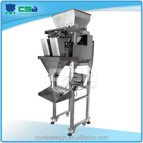 Food machinery equipment electronics vertical form fill seal belt corn weigher and packer