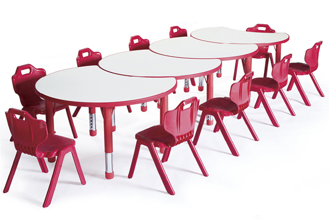 Wholesale supplier children plastic table and chairs set children study chair