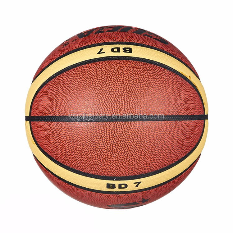 new style sports match PVC basketball with great price