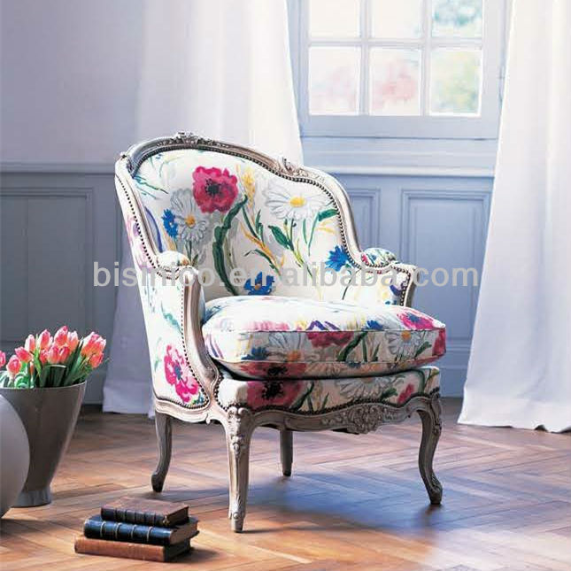 French Provincial Louis Xv Gondola Bergere Armchair/french Rustic ...