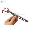 Factory price wholesale v shaped aluminum tent pegs With Trade Assurance