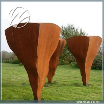 Large Outdoor Corten Steel Sculpture