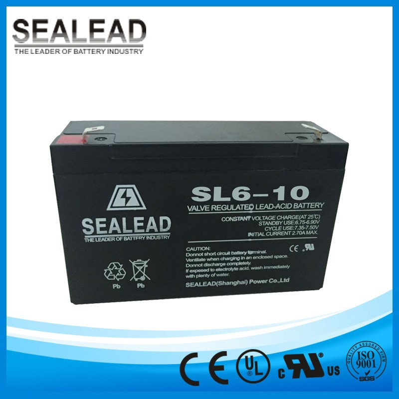 6v10Ah Long life UPS battery for Electric toys