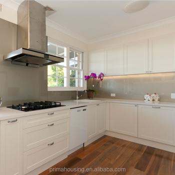 Free Standing Armadio Da Cucina,Bianco Opaco Pvc Mdf Cucina Cabinet ...