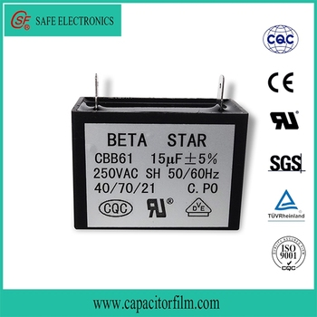 Strong Function Ac Motor Cbb61 Capacitor For Fan Used 2uf - Buy Strong  Function Ac Motor Cbb61 Capacitor For Fan Used,Ac Motor Fan Cbb61 2uf