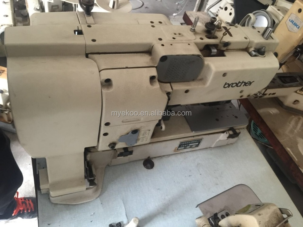 used good quality brother 814 button hole industrial sewing machine