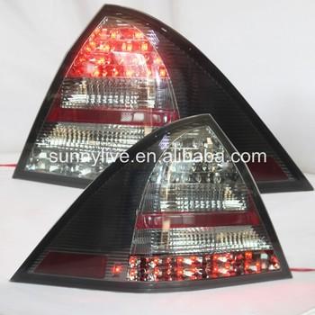 2001-2004 Year For Mercedes-benz W203 C32 C36 C280 C230 C320 C240c180k  C200k Led Tail Lamp Rear Lights Smoke Black Color Sn - Buy W203 Led Tail